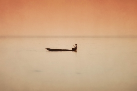 Fisherman on Lake Kariba - new edit