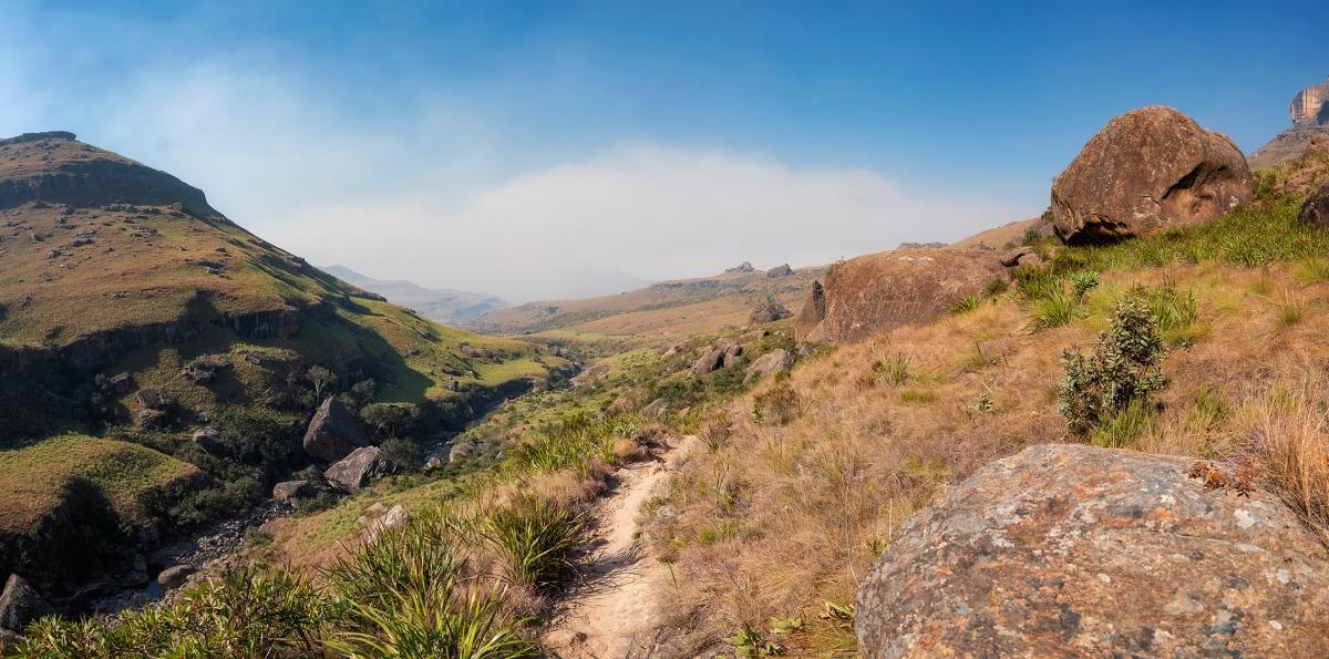 Drakensberg hike